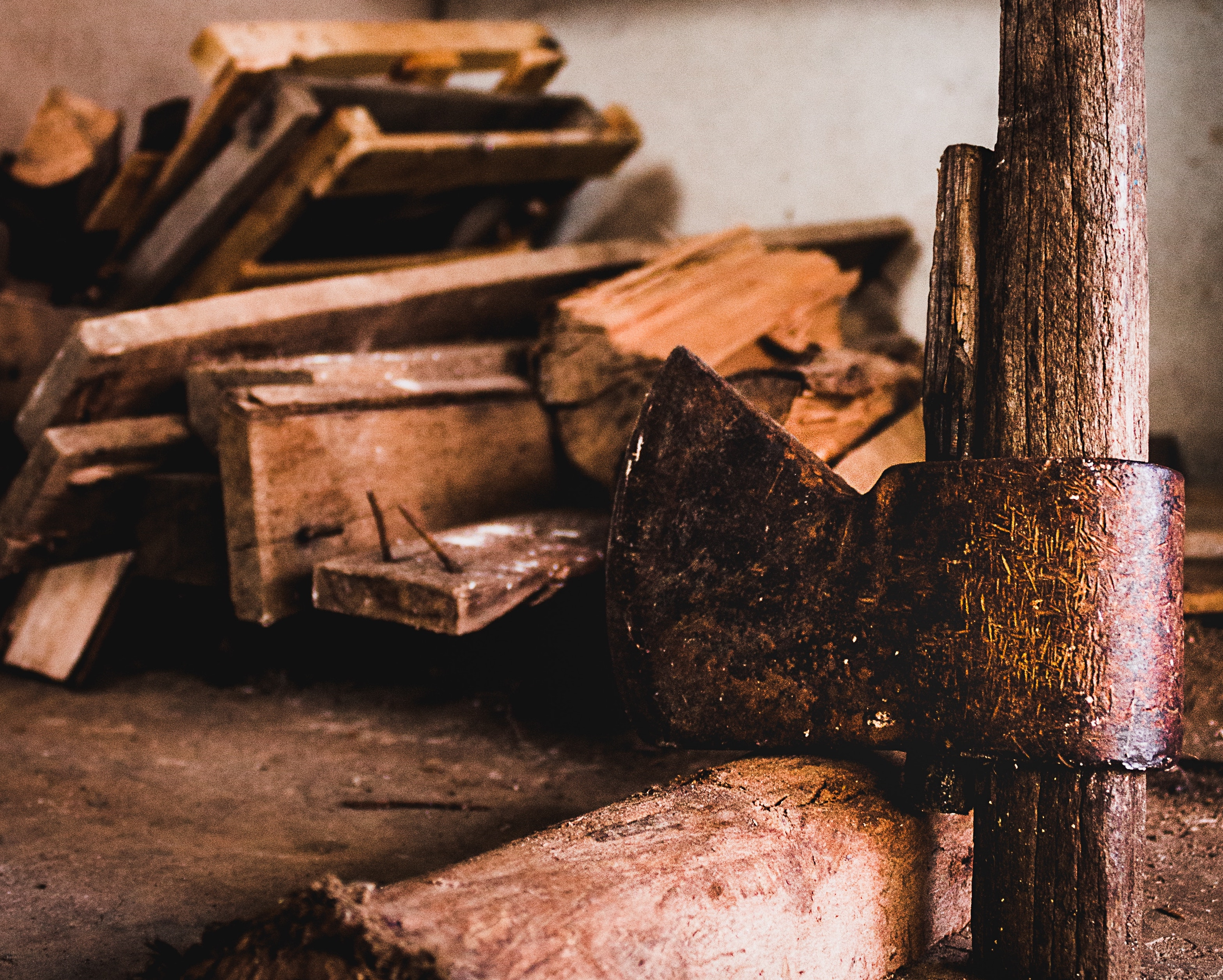 Splinters, Beams, and the Christian Woodchopping Industry
